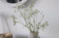 Konstgjorda blommande grenar för känslan av sommar